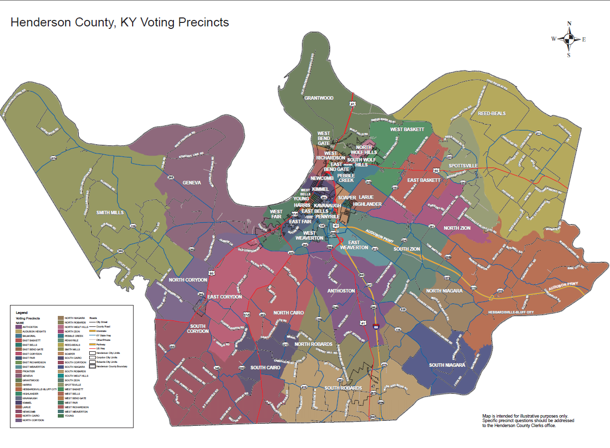 HCCGIS – Henderson City-County GIS